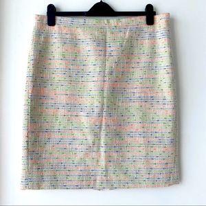 Jacquard J Crew skirt